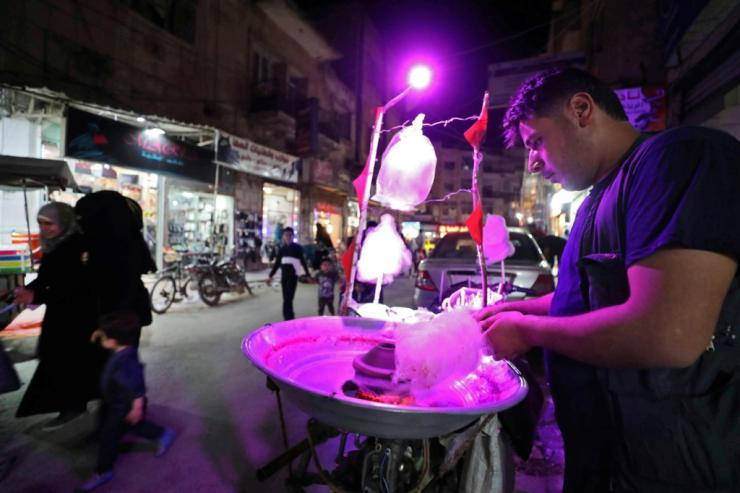 Syrians are among the many Muslims who are set for frugal celebrations amid growing financial distress