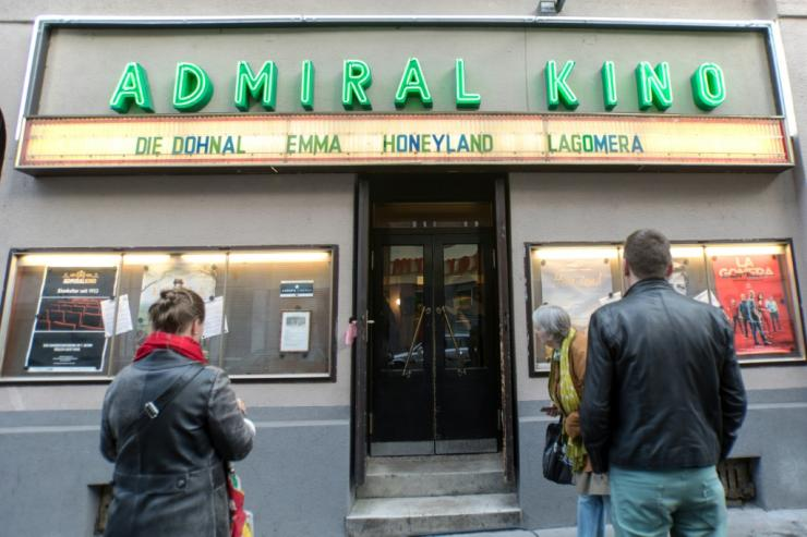 Vienna's Admiral Kina cinema opened on Friday night for the first time in months