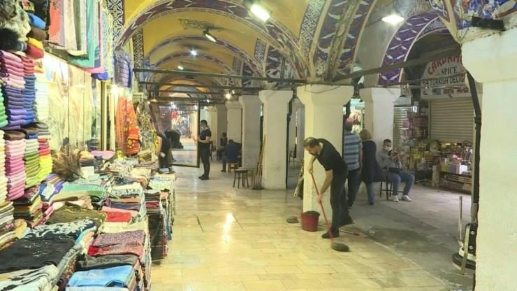 Turkey's iconic Grand Bazaar reopens