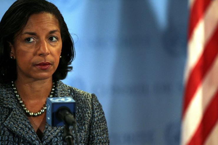 Former National Security Advisor Susan Rice is believed to be on the short-list of vice presidential candidates