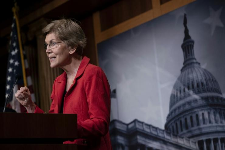 Senator Elizabeth Warren challenged Joe Biden for the Democratic presidential nomination and is now under consideration as his running mate