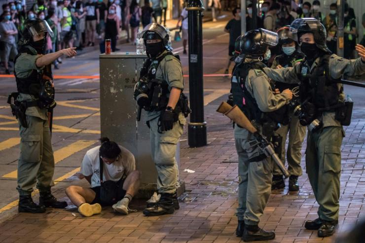 Protests last year often turned violent, with police firing tear gas and rubber bullets