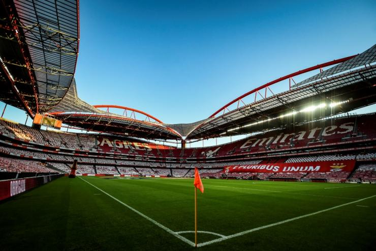 The Estadio da Luz, where PSG will play Atalanta behind closed doors on Wednesday, and where the Champions League final will be played on August 23