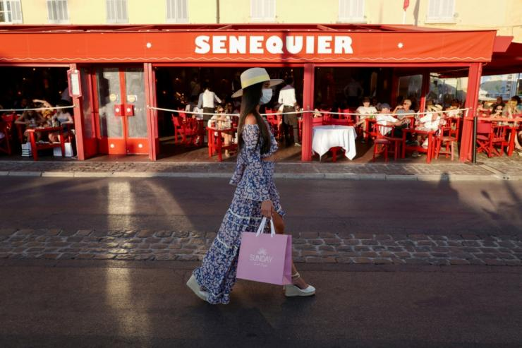 Brigitte Bardot's favoured Sennequier cafe has been shuttered because of the virus