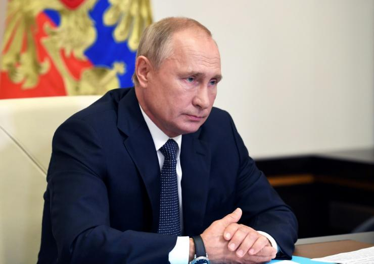 Russian President Vladimir Putin is at odds with his Western partners on a host of issues