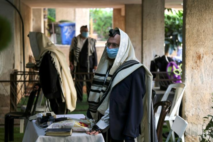 Many Israelis have observed restrictions to stop coronavirus spreading, including ensuring people keep their distance as they pray, but cases continue to grow