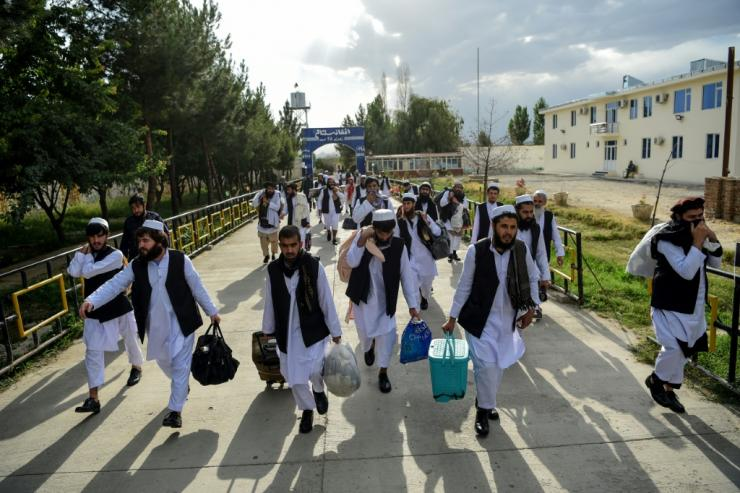 The release of 5,000 Taliban prisoners was a precondition to the peace talks
