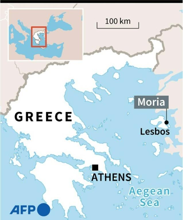 Lesbos is the main EU port of entry for arrivals in Greece because of its proximity to Turkey