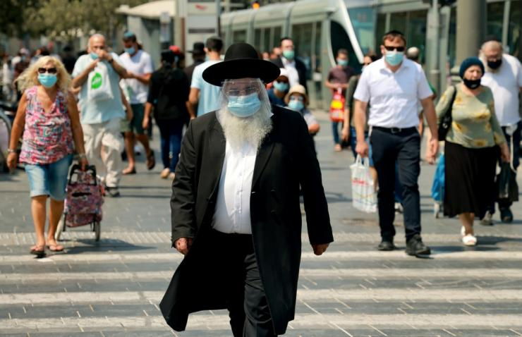The announcement of a fresh lockown in Israel has angered many people there