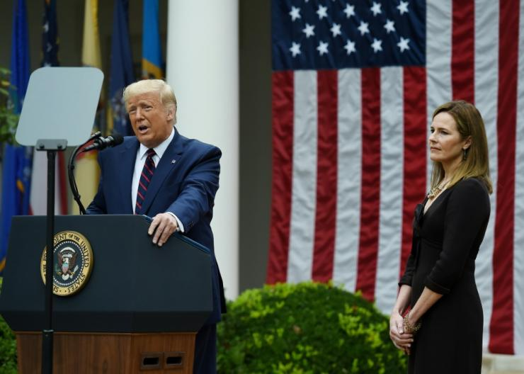 Judge Amy Coney Barrett is President Donald Trump's third Supreme Court pick