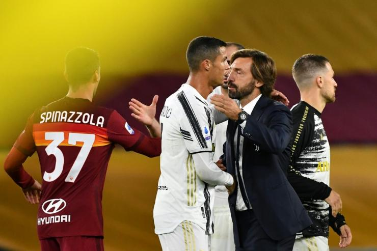 "'Ronaldo gives us a lot, not just goal,"" said Juventus coach Andrea Pirlo."