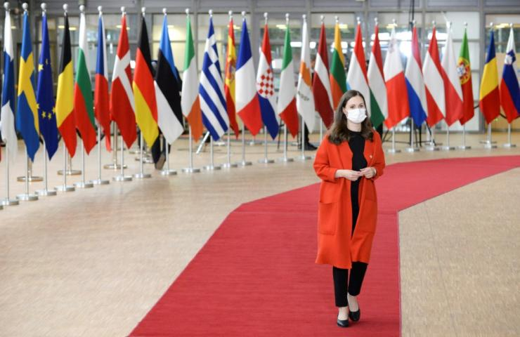Sanna Marin was forced to leave an EU summit to self-isolate