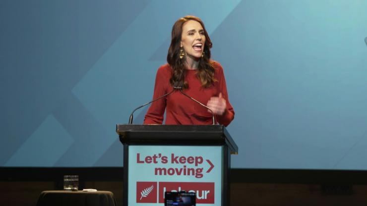 New Zealand's Ardern says 'time to keep going' after election win
