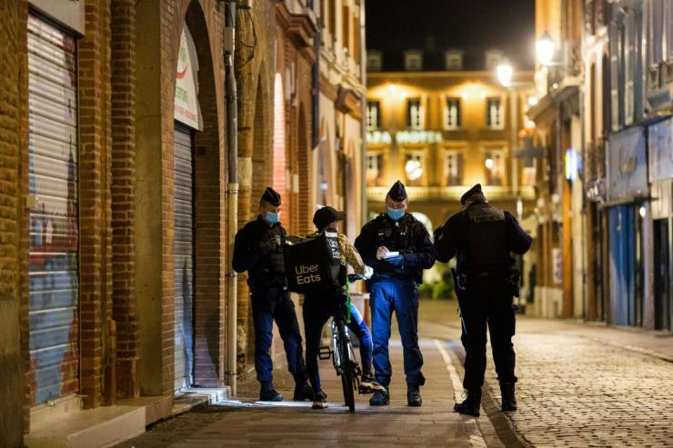 France has introduced a night-time curfew over much of its territory