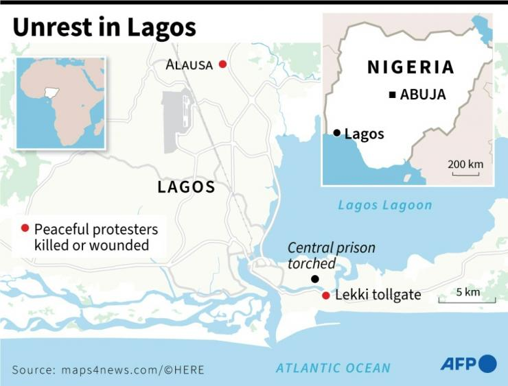 Protests and bloodshed in Lagos