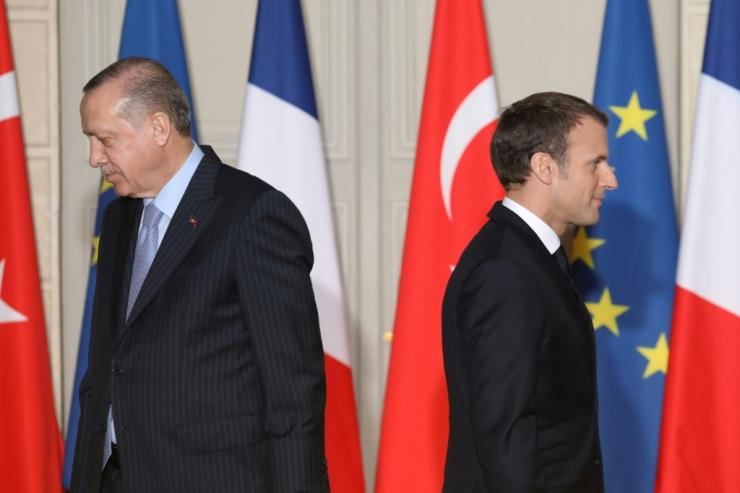 Turkey's Erdogan and France's Macron have repeatedly traded barbs, as tension rises between their countries