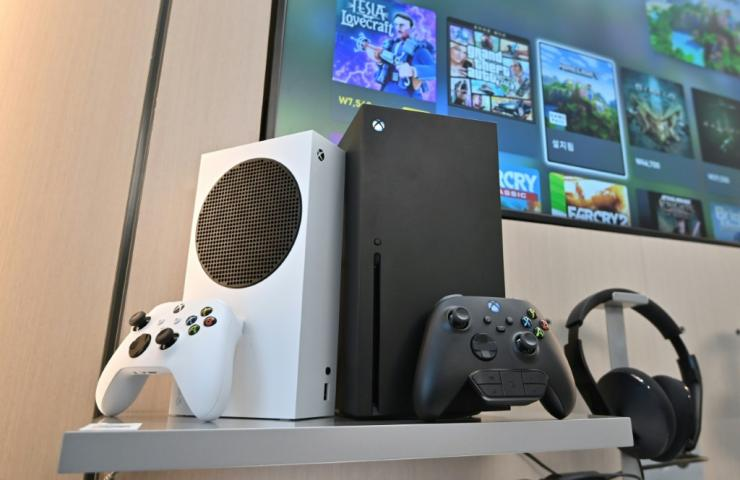 Microsoft's black Xbox Series X and white series S gaming consoles have launched just two days before Sony releases the PlayStation 5