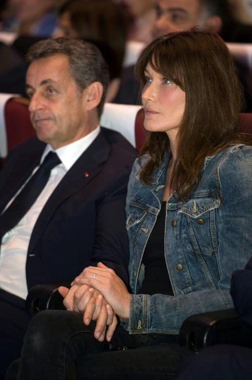 Sarkozy has been married to former top model Carla Bruni since 2008