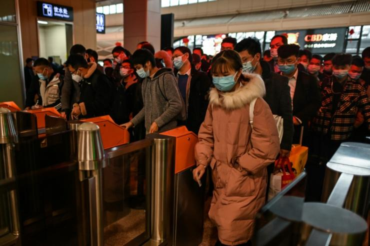 Wuhan is clawing back to normal, but fear of the virus lingers, especially with another winter setting in