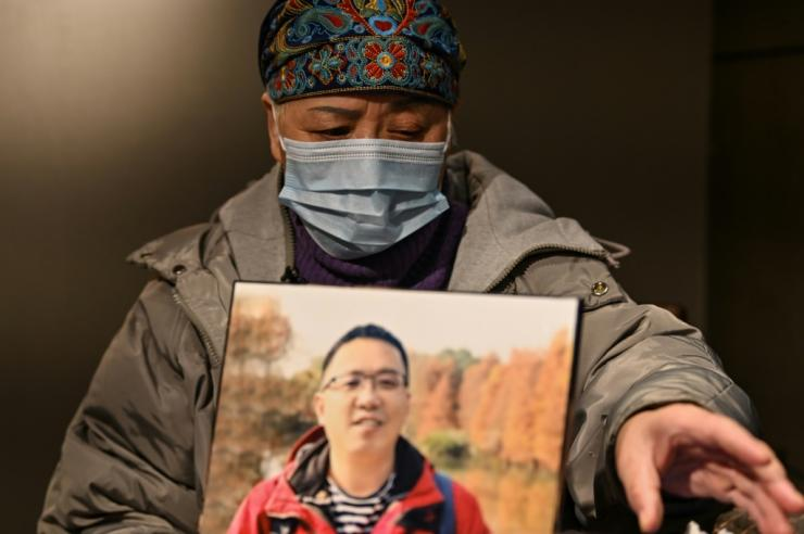 Zhong Hanneng still struggles to sleep or eat following the death of her son from Covid-19 nearly 10 months ago in Wuhan