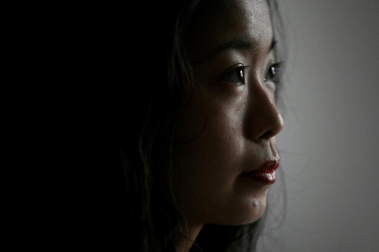 """Zhou said when she first went to the police with her accusation, she was discouraged from speaking out, making her feel her existence was """"very insignificant"""