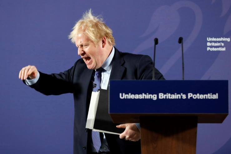 Johnson insists Britain will 'prosper mightily' even without a deal