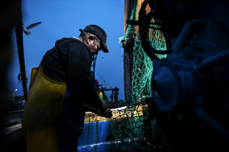 Fishing rights have been a key sticking point