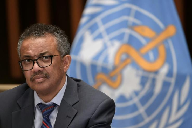 WHO Director-General Tedros Adhanom Ghebreyesus said 'vaccines are offering the world a way out of this tragedy' although it will 'take time'