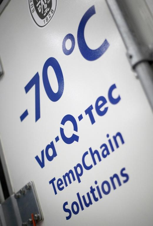 German company Va-Q-Tec makes special containers able to keep the precious vaccines at minus 70 degrees Celsius