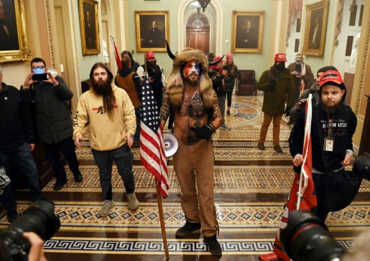 'American dozo': One of the rioters in the US Capitol reminded West Africans of traditional hunters in the vast, lawless Sahel region