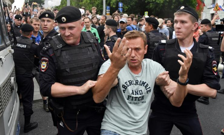 Alexei Navalny's team publishes YouTube investigations into the wealth of Russia's political elites, some of which garner millions of views, making them a target of lawsuits, police raids and jail stints