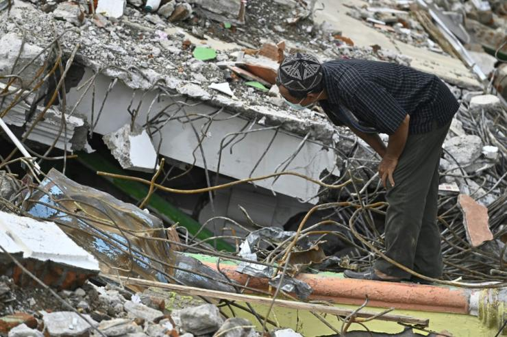 Thousands have been left homeless after the quake