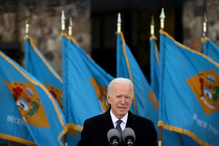 All eyes are on the swearing-in of Joe Biden, who is expected to push through a huge new stimulus package