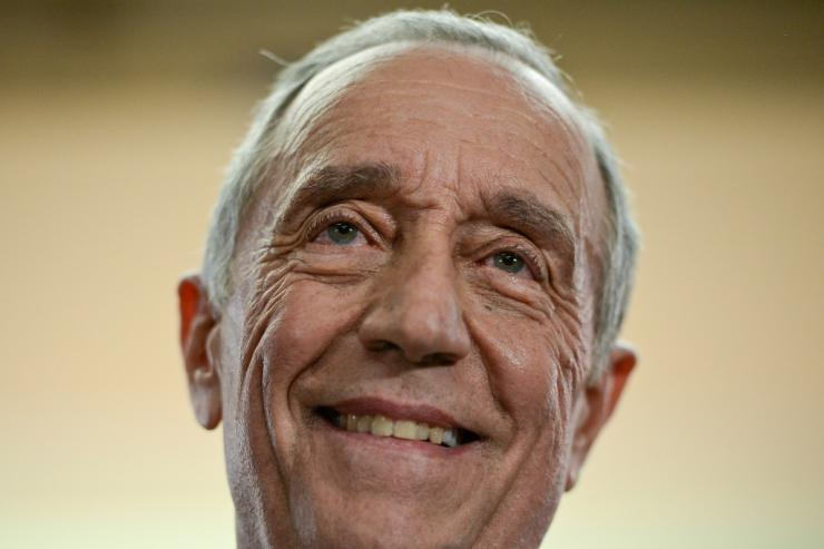 One of the rare politicians to be referred to only by his first name, Marcelo Rebelo de Sousa is firm favourite for reelection