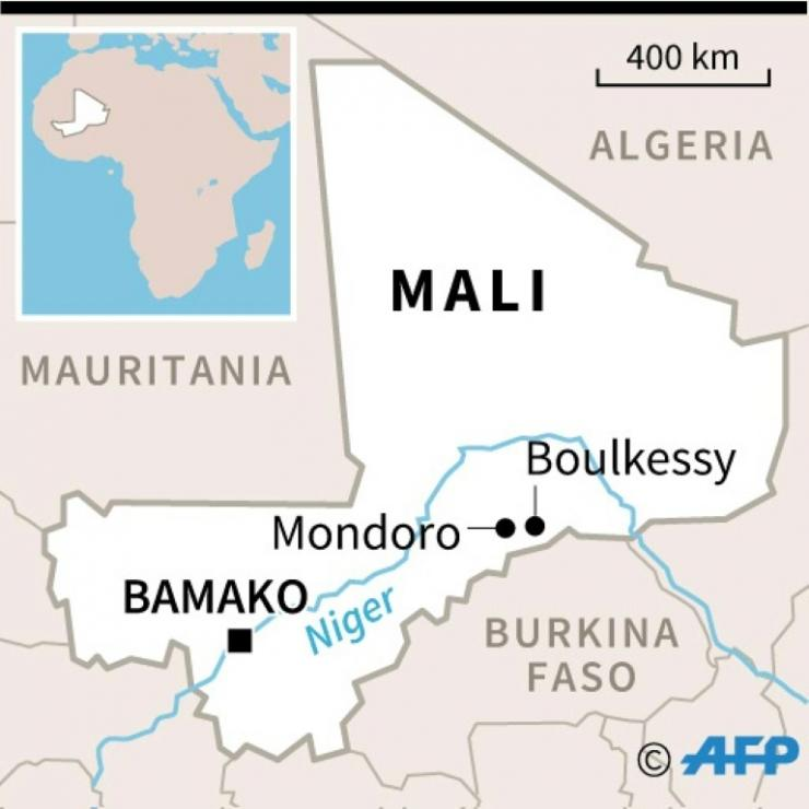 Thee suspected jihadist raids took place at Boulkessy and Mondoro, near Mali's border with Burkina Faso