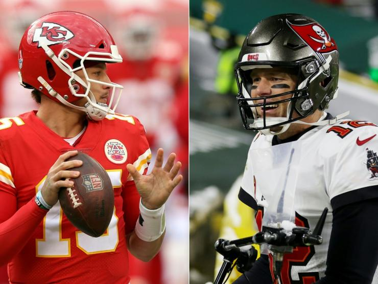 Super Bowl LV will be feature legendary quarterback Tom Brady of the Tampa Bay Buccaneers and rising star Patrick Mahomes of the Kansas City Chiefs, a duel likely to draw a big audience