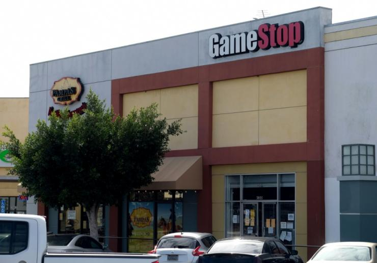 Despite poor financial health, shares of GameStop have seen a meteoric rise in recent days