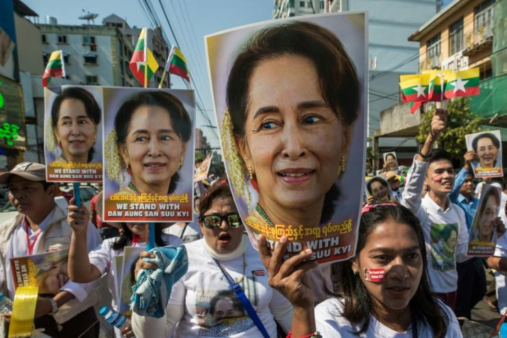 The army-linked USDP party's performance in the polls signalled little hope of overturning Suu Kyi's star power with the electorate