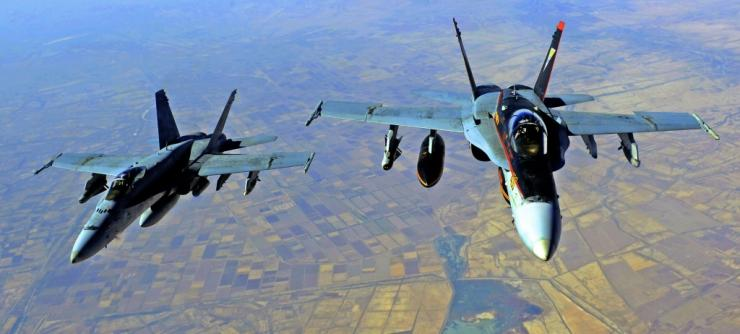 At least 17 pro-Iran fighters were killed in US strikes in Syria at the Iraq border, the Syrian Observatory for Human Rights said