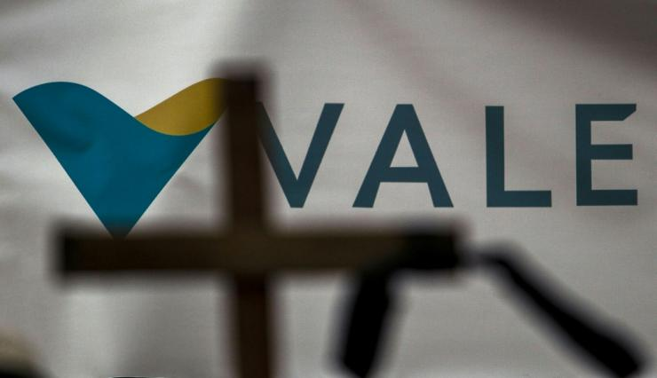The Vale company of Brazil is one of the world's biggest miners of iron ore