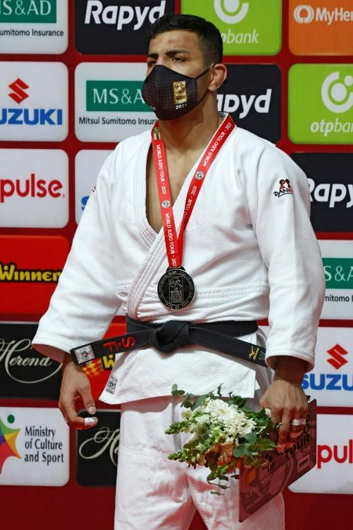 Now competing for Mongolia, Mollaei won the silver medal in the under 81kg category of the Tel Aviv Grand Slam in February 2021