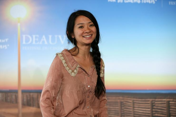 Chloe Zhao became the first female director in history to win the best drama Golden Globe with the semi-fictional film