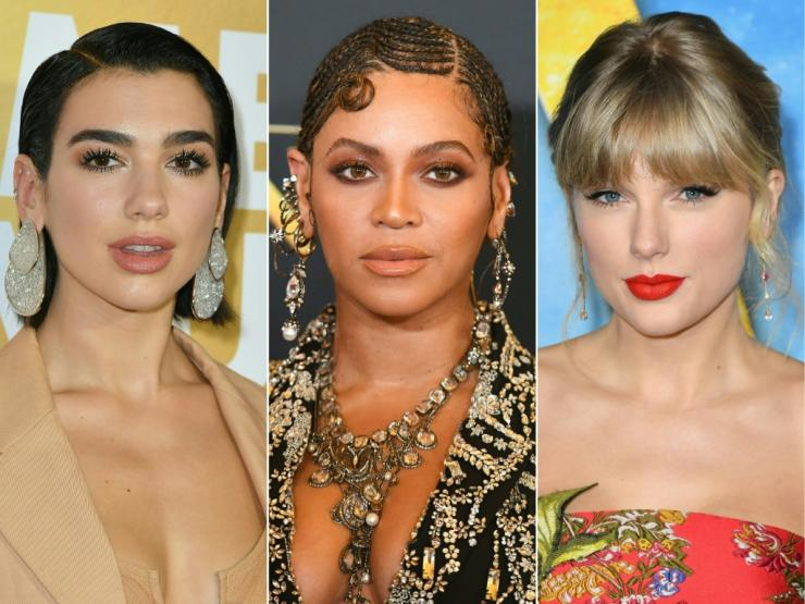 Dua Lipa, Beyonce and Taylor Swift are leading this year's Grammy nominees pack
