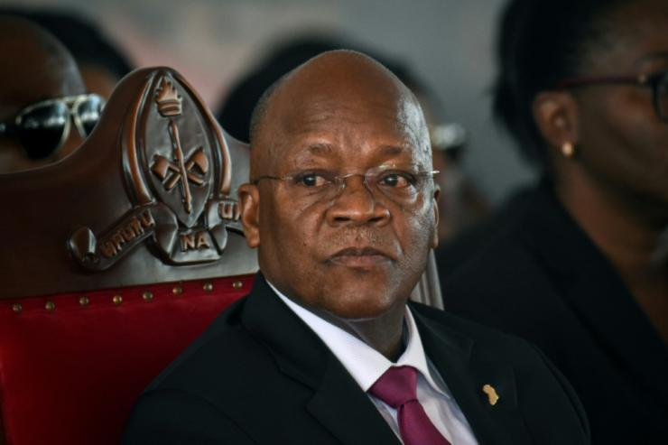 Magufuli re-election in October was dismissed by the opposition and some diplomats as a sham, over alleged rigging, the blocking of foreign media and observer teams and an oppressive military presence