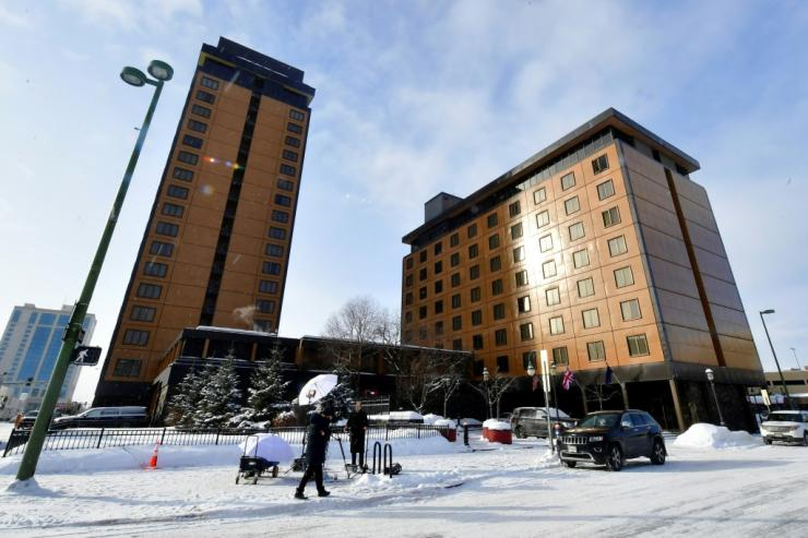 The Captain Cook hotel in Anchorage, Alaska is the site of the first face-to-face talks between the United States and China since President Joe Biden took office