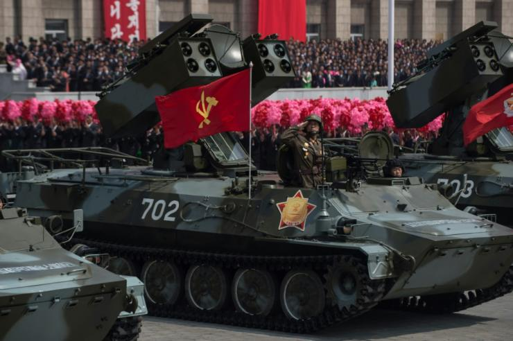 North Korea is under multiple international sanctions over its weapons programmes
