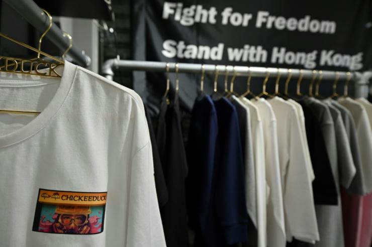 "As well as the national security law, Beijing has spearheaded a campaign -- dubbed ""staunch patriots running Hong Kong"" -- to root out dissent across society"
