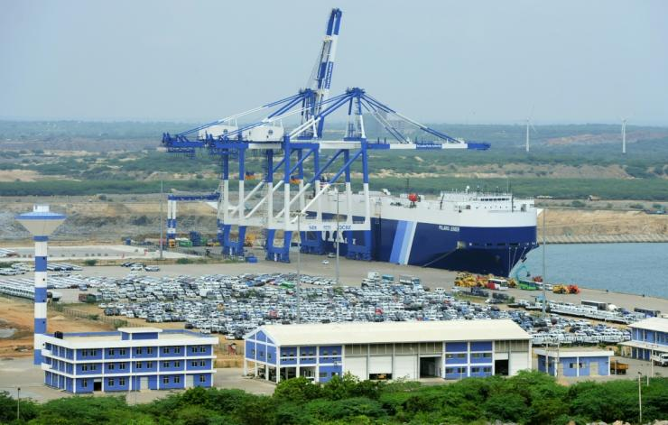 Hambantota port was leased to China in 2017 for 99 years after the Sri Lankan government was unable to repay $1.4 million it had borrowed from Beijing to build it