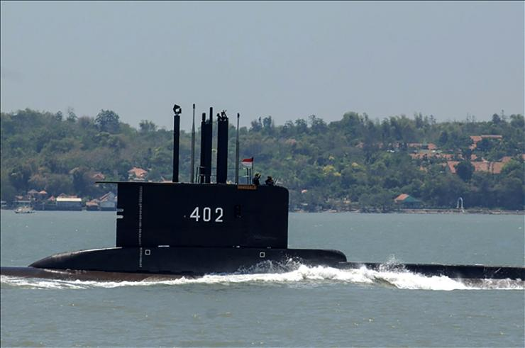The KRI Nanggala 402 has gone missing off the coast of Bali