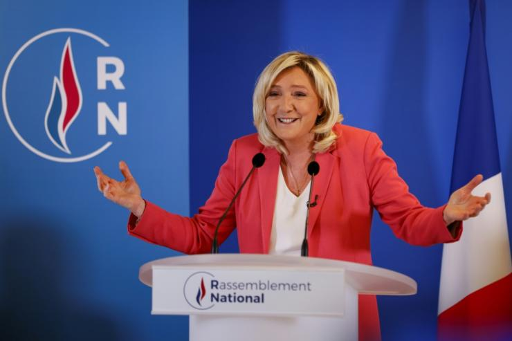 "Far-right  leader Marine Le Pen has asked: ""Why shouldn't we celebrate Napoleon?"